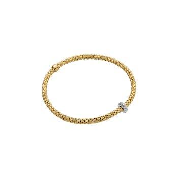 "18KT ""Prima"" Bracelet with Diamonds"