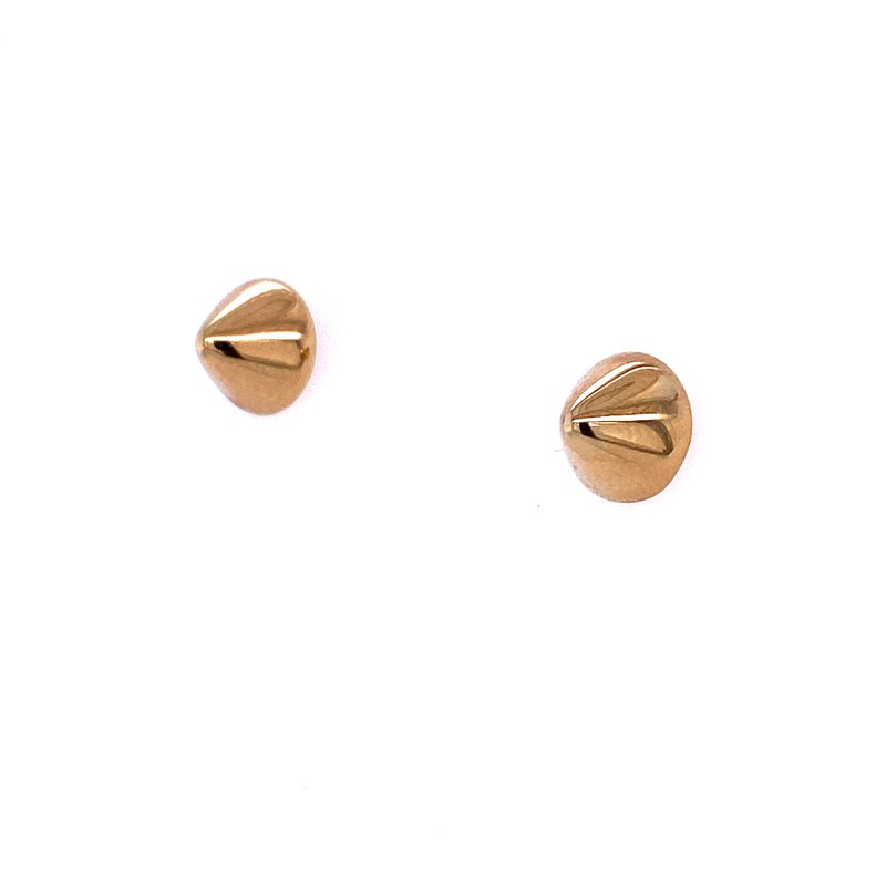 David Harvey Everyday Collection 14KY Cone Studs