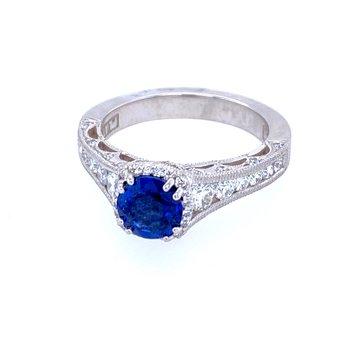 "PT Sapphire & Diamond ""Dantella"" Ring"