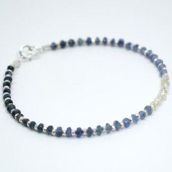 Kenzie One by One Ombré Sapphire Bracelet