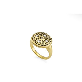 "Diamond ""Celtic Spring"" Ring"