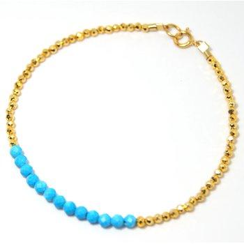 Kenzie Bar Turquoise Bracelet