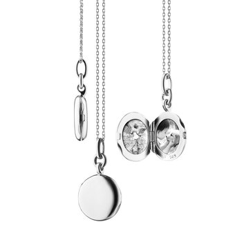 "SS Slim Round ""Nan"" Locket"