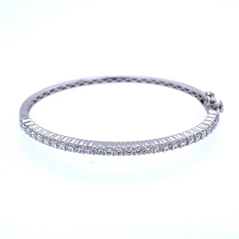 David Harvey Everyday Collection 14KW 2.00ct Diamond Bangle
