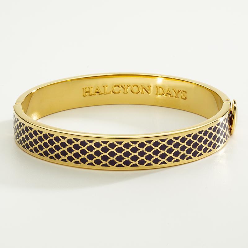 Halcyon Days  Salamander Amythyst Bangle