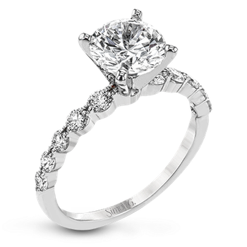 LP2380-semi Engagement Ring