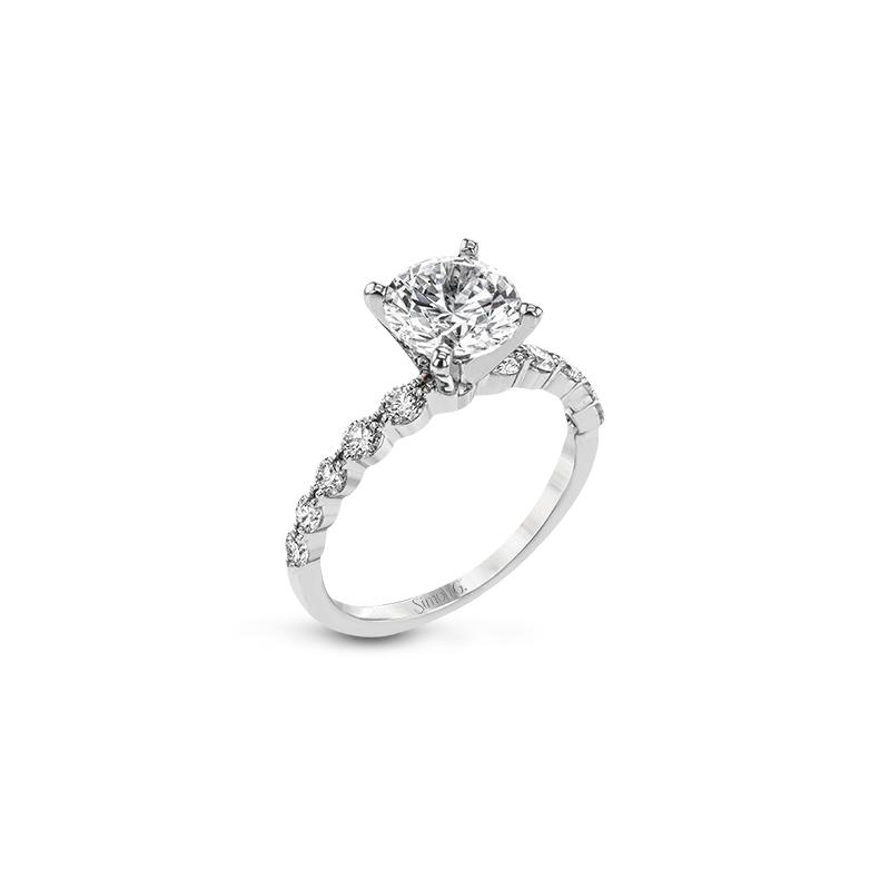 Simon G LP2380-semi Engagement Ring