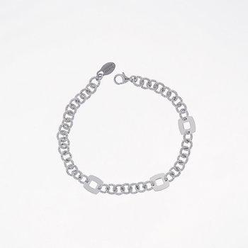 Glimmer Square Sterling Silver Bracelet