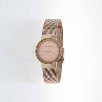 Rose Gold Watch With Sapphire Crystal
