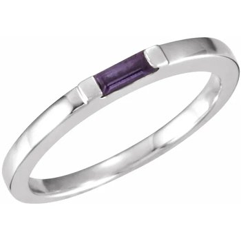 Customizable Stackable Family Ring