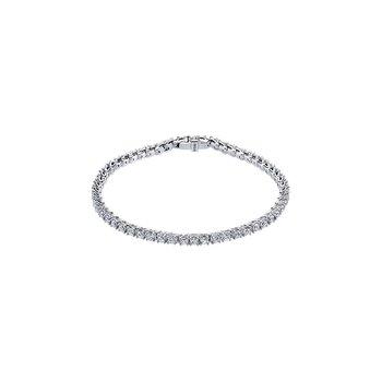 Eternal Flames Diamond Line Bracelet
