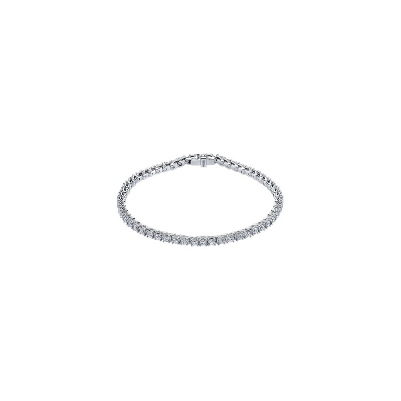 Maple Leaf Diamonds Eternal Flames Diamond Line Bracelet