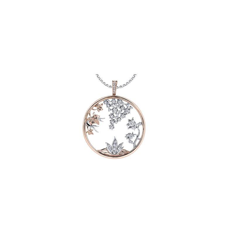 Maple Leaf Diamonds Four Seasons Medallion