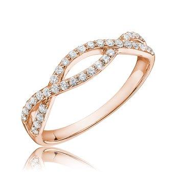 Diamond Treasures Infinity Ring