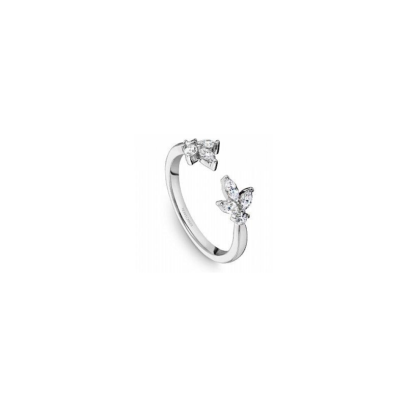 Noam Carver  Diamond Floral Open Ring