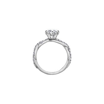 150 Cut Collection Diamond Set Infinity Engagement Ring