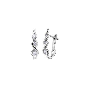 Tides of Love Huggie Earrings