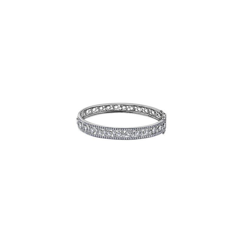 Maple Leaf Diamonds Diamond Bangle