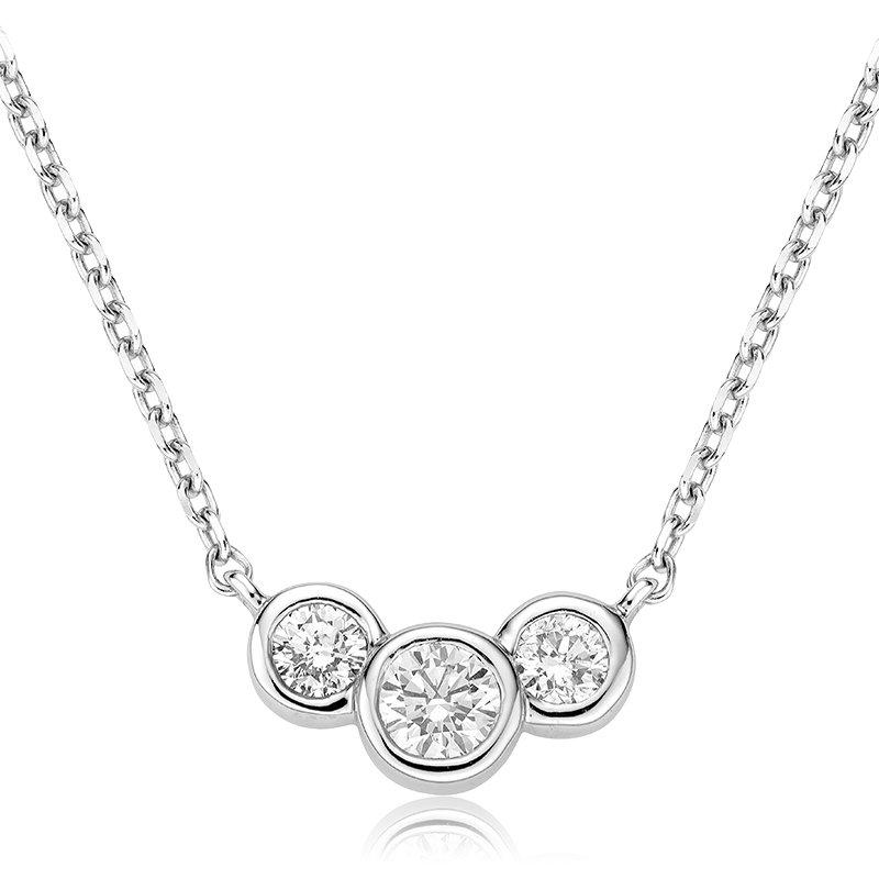 RnB Jewellery Three Stone Necklace