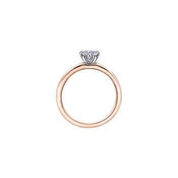 150 Cut Collection Petite Solitaire Ring
