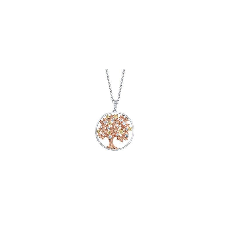 Maple Leaf Diamonds Autumn Oak Tree Medallion