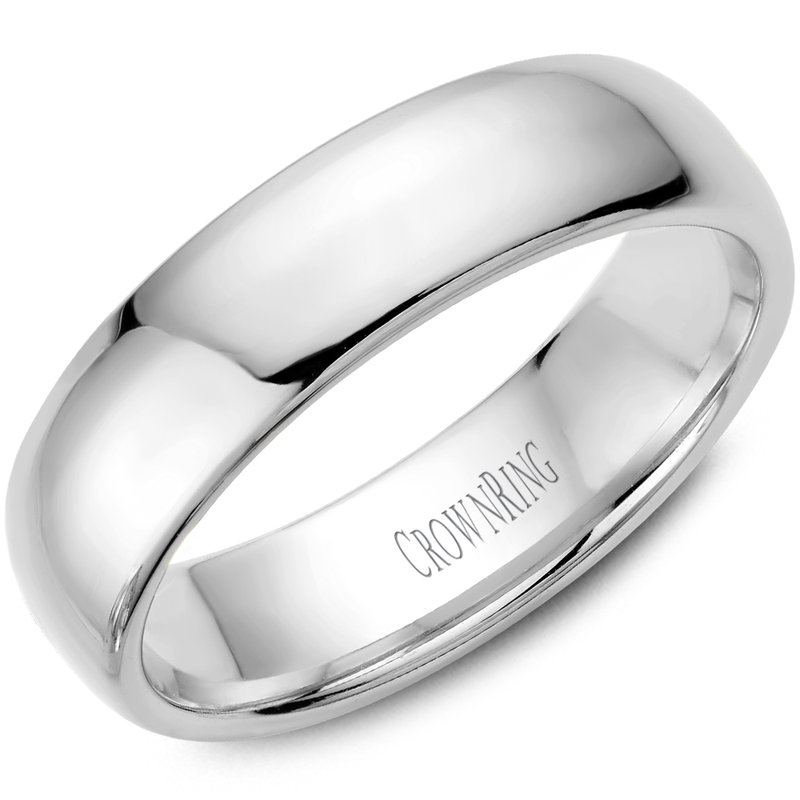 CrownRing Classic Wedding Band