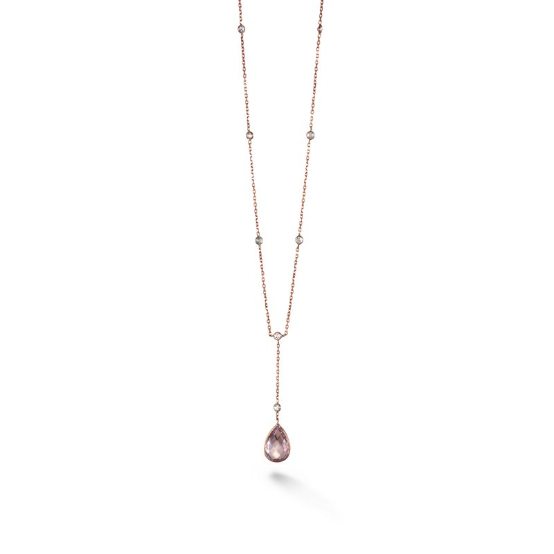 B Couture Multi-Stone Y Necklace