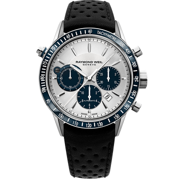 Freelancer Men's 7740 Silver Automatic Chronograph