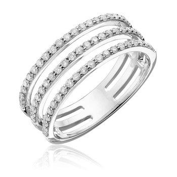 Diamond Triple Ring