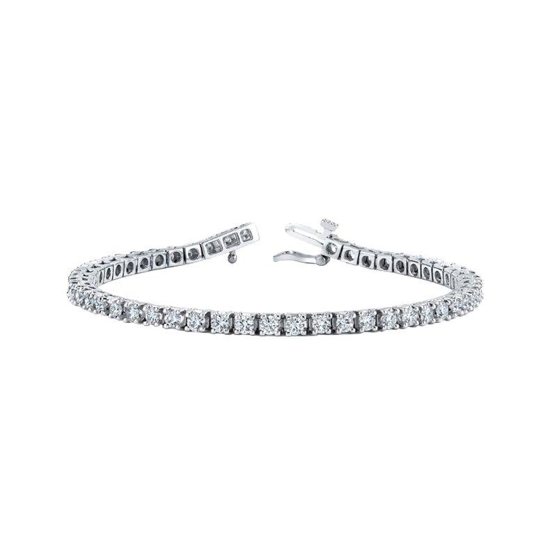 Maple Leaf Diamonds Canadian Diamonds Line Bracelet