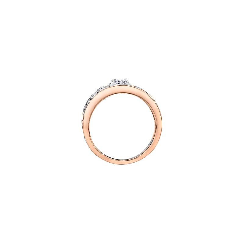Maple Leaf Diamonds Summer Enchanted Garden Oval Engagement Ring