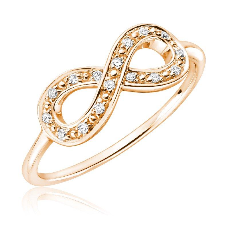 RnB Jewellery Diamond Infinity Ring