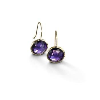 Large Amethyst Drop Earrings
