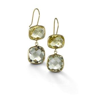 Multi-Stone Drop Earrings