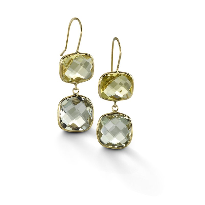 B Couture Multi-Stone Drop Earrings