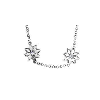 Spring Lilies Diamond Bracelet