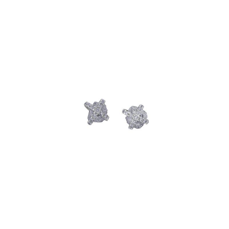 Maple Leaf Diamonds Love's Foundation Stud Earrings