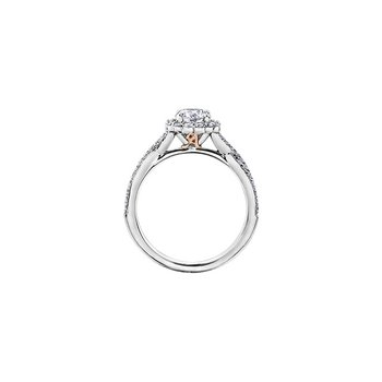 Love Letters Infinity Engagement Ring