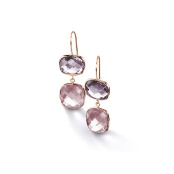 Multi-Stone Drop Earrings