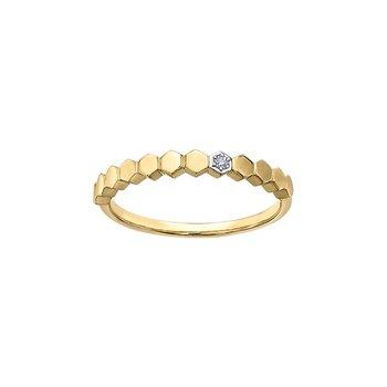 Honeycomb Stacking Ring