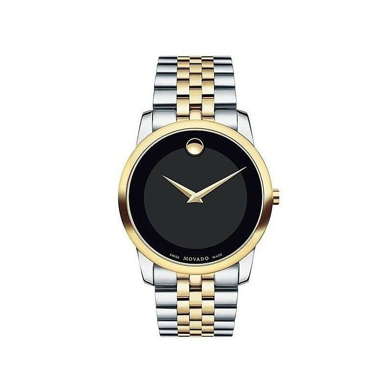 Davidson's Signature Movado Museum Two Tone Watch