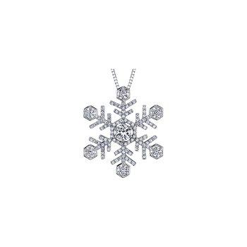Large Snowflake Pendant