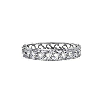 Tides of Love Wide Diamond Bracelet