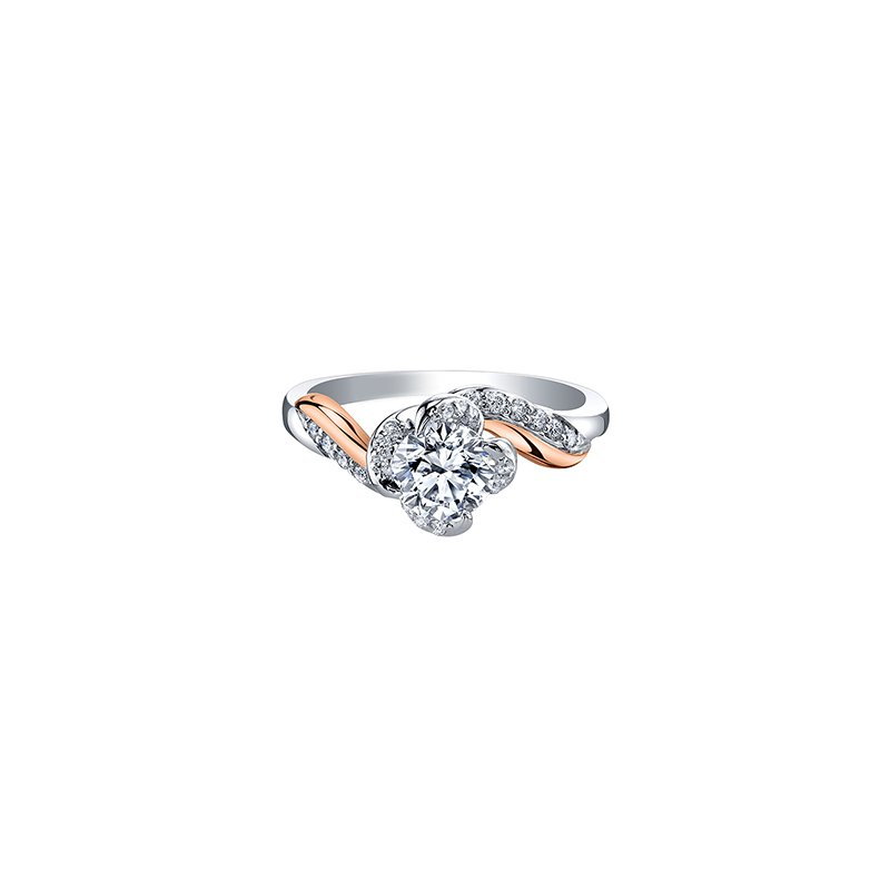 Maple Leaf Diamonds Wind's Embrace Diamond Wrap Engagement Ring
