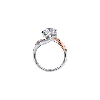 Wind's Embrace Diamond Wrap Engagement Ring