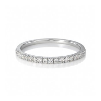 Half Way Diamond Set Band