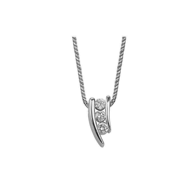 Max Strauss Ruby and Diamond Pendant