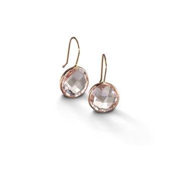 White Quartz Drop Earrings