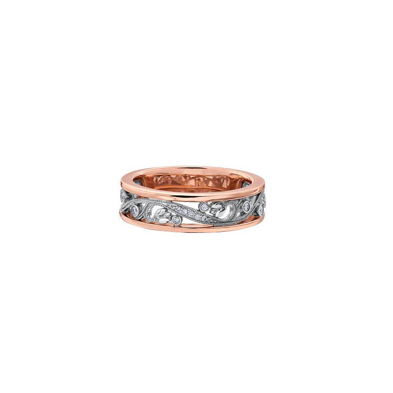 Maple Leaf Diamonds Summer Enchanted Garden Princess Engagement Ring