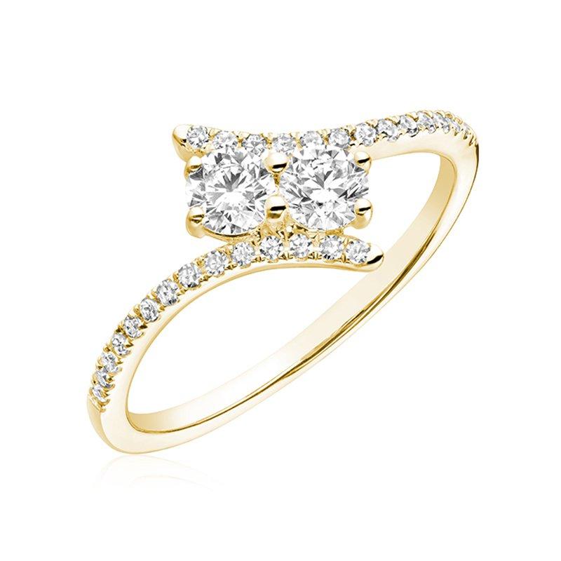 RnB Jewellery Diamond Moi et Toi Ring